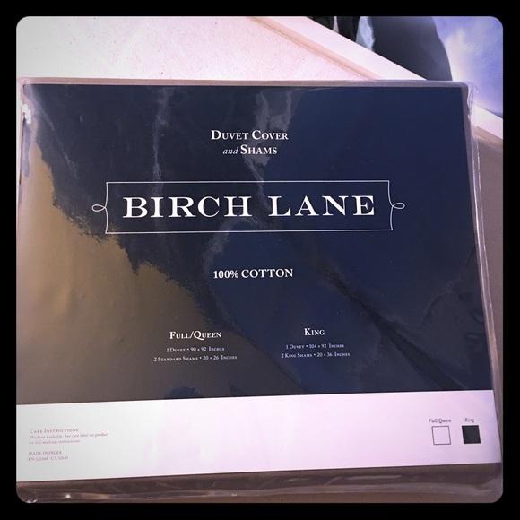 Birch Lane duvet set king size - taupe